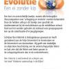 Evolutie een ei zonder kip achterzijde