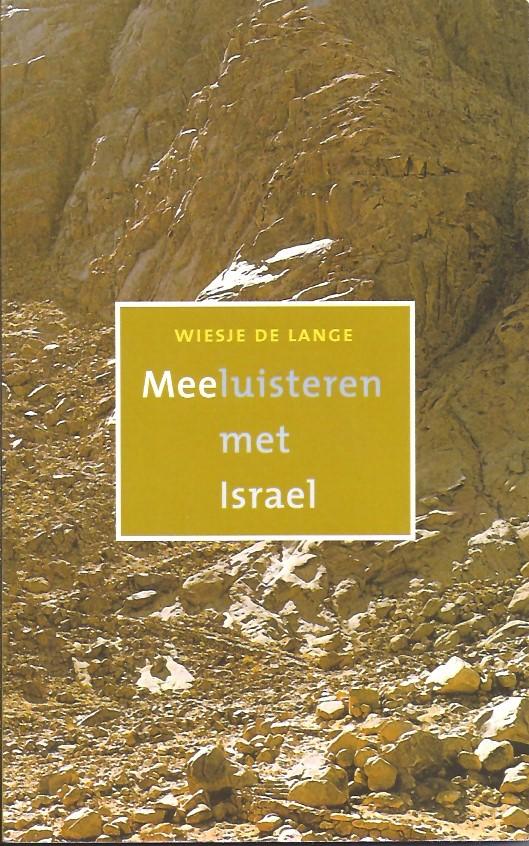 Meeluisteren met Israel-Wiesje de Lange-9043509884-9789043509886