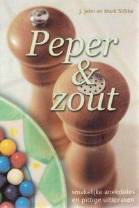 Peper Zout J. John en Mark Stibbe 9033818078