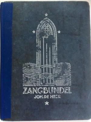 Zangbundel Joh. de Heer