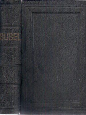 Bijbel 1931 E vd Broek kaft