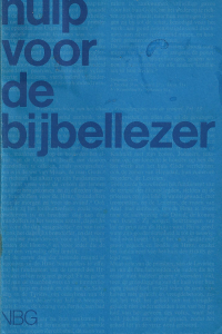 Hulp voor de bijbellezer