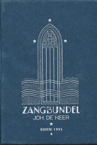 Zangbundel Johannes de Heer editie 1991