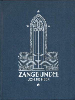Zangbundel Johannes de Heer editie 1978