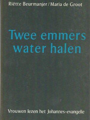 Twee emmers water halen