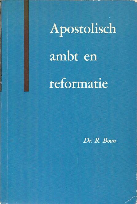 Apostolisch ambt en reformatie