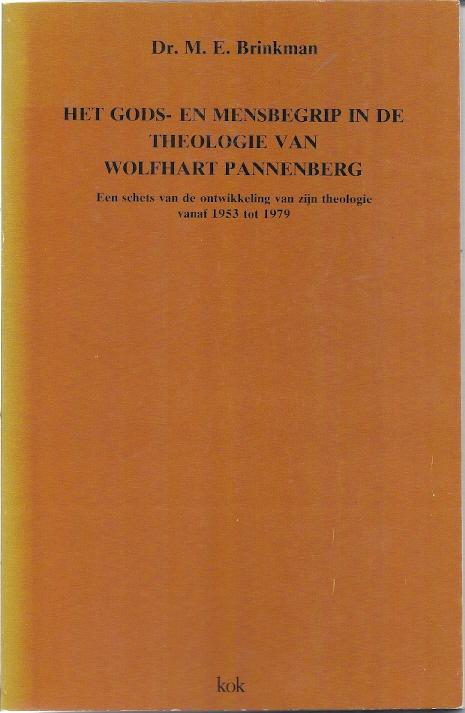 Het Gods en mensbegrip in de theologie