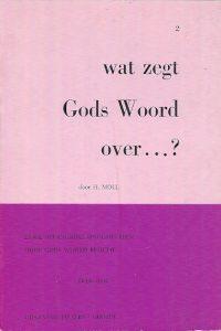 Wat zegt Gods Woord over nummer 2