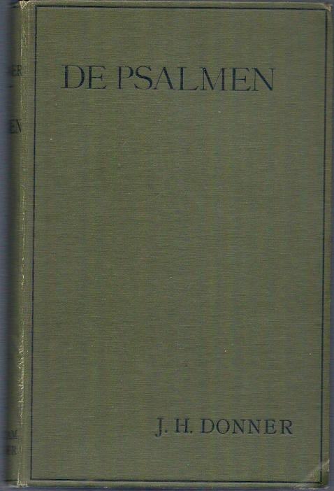 De Psalmen J.H. Donner 1893