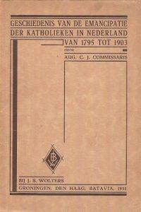 Geschiedenis van de emancipatie der Katholieken