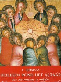 Heiligen rond het altaar een misverklaring in verhalen