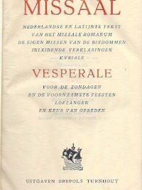 Missaal en Vesperale 1957