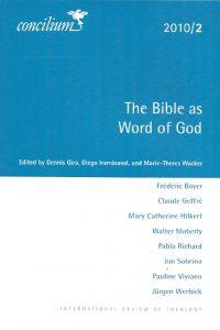 The Bible as Word of God Concilium 2010 2