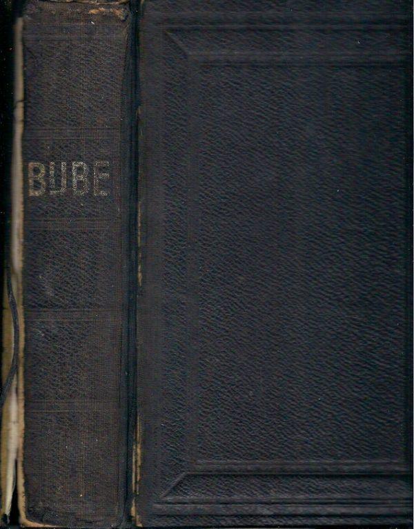 BIJBEL 1931 leren huwelijksbijbel