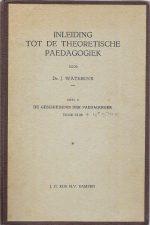 Inleiding tot de theoretische paedagogiek