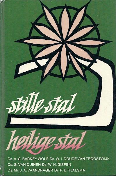 Stille stal heilige stal. Overdenkingen rond kerstmis