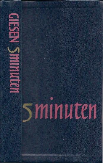 5 minuten een bijbelwoord voor iedere dag 1971