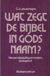 Wat zegt de bijbel in Gods naam