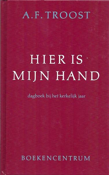 Hier is mijn hand dagboek bij het kerkelijk jaar