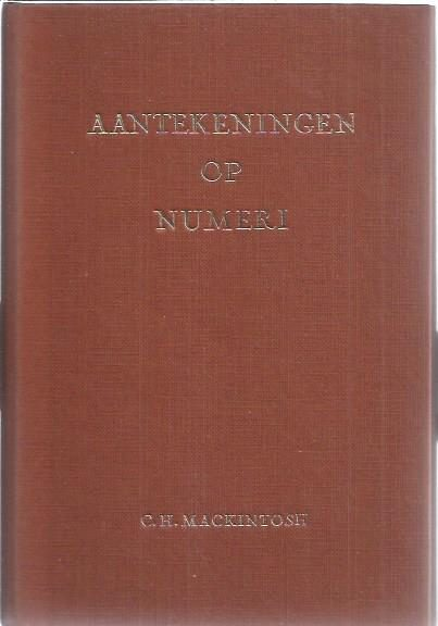 Aantekeningen op Numeri-C.H. Mackintosh-3e druk