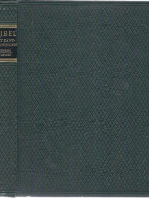 BIJBEL met kanttekeningen luxe deel 1 Genesis Nummeri