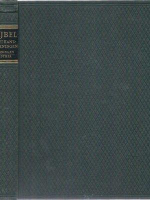 BIJBEL met kanttekeningen Luxe 3 Koningen Esther