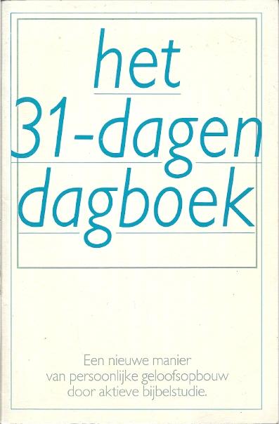 Het 31 dagen dagboek een nieuwe manier