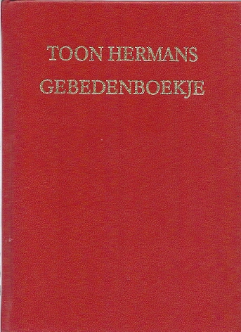 Gebedenboekje Toon Hermans