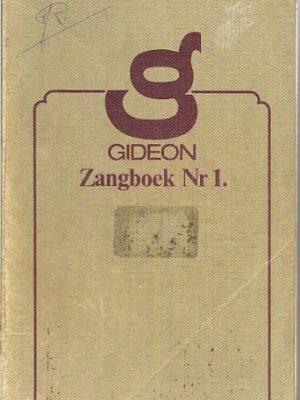 Gideon Zangboek Nr 1.