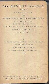 Psalmen en gezangen voor NHK 1938 Leer Klein