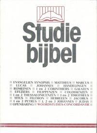 Studiebijbel 16-Woordstudies en Concordantie-kaft