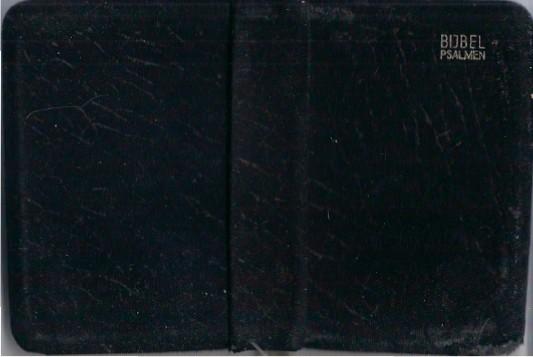 Bijbel Psalmen boekje in gebruik bij de Geref. Kerken Z fluweel e1444031922168