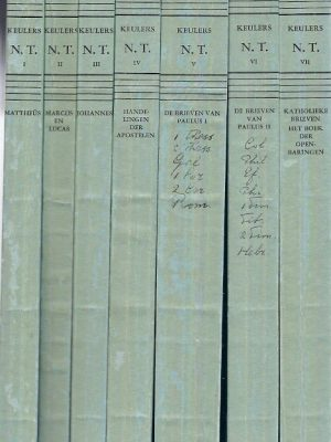 De boeken van het nieuwe testament  Jos Keulers