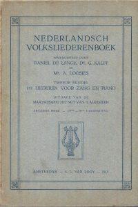 Nederlandsch Volksliederenboek 141 liederen 7e druk