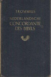 Nederlandsche concordantie des Bijbels van Trommius 5e