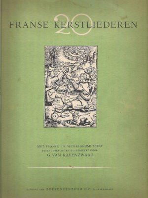 Twintig Franse kerstliederen met Franse en Nederlandse tekst