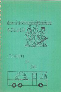 Zingen in de kinderkaravaan Dordtse evangelisatie