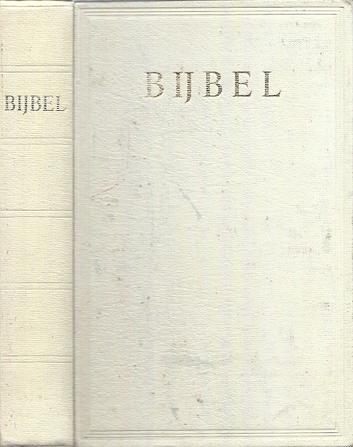 Bijbel NBG1951 wit kunstleer