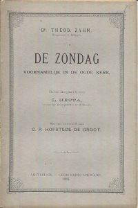 De Zondag voornamelijk in de oude kerk Theodor Zahn 1880