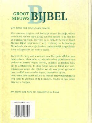 Groot Nieuws Bijbel met aantekeningen NBG KBS 2e B