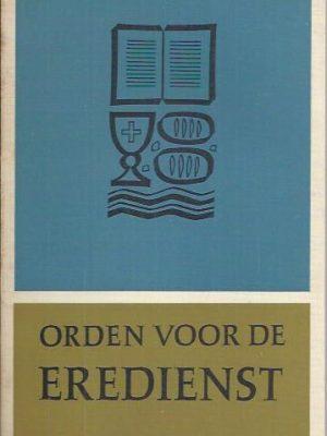 Orden voor de eredienst van de Gereformeerde Kerken in Nederland 1965-1966