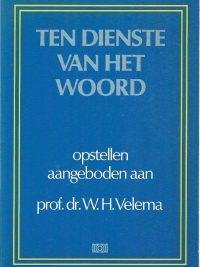 Ten dienste van het Woord opstellen aangeboden aan Velema