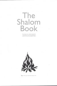 The Shalom Book Marlys Swinger