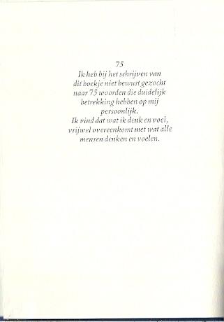 Uitzonderlijk 75 woorden - Toon Hermans - Tweedehands Christelijke boeken &NT61