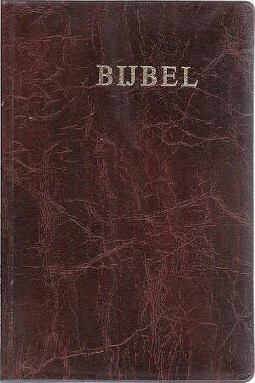 Bijbel 1987 Bijbelgenootschap 9e druk editie 1977 bruinSkay