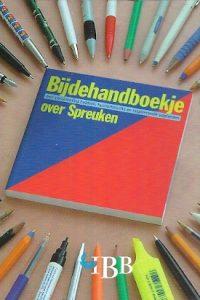 Bijdehandboekje over Spreuken IBB 9032312669
