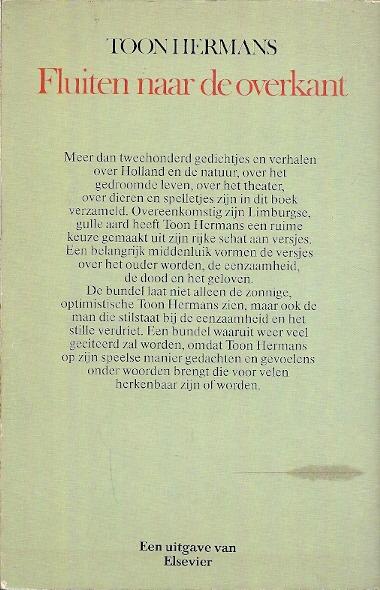 Genoeg Gedicht Pensioen Toon Hermans DC43 | Belbin.Info #OL77