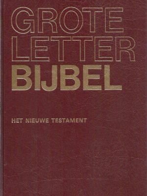 Grote letter bijbel in de NBG vertaling 1951 4e druk 2000