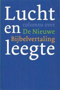Lucht en leegte columns over De Nieuwe Bijbelvertaling