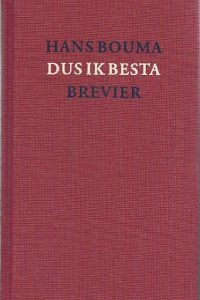 Dus ik besta brevier Hans Bouma 9024282012